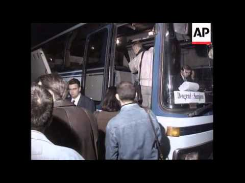 Serbia- Bus service between Sarajevo and Belgrade