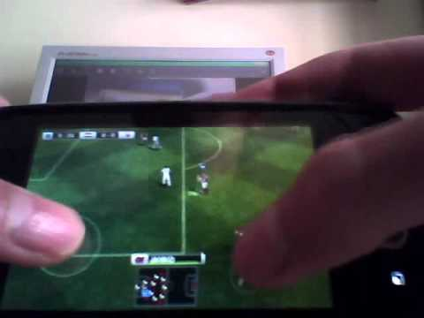 LG Optimus ONE - PES 2011