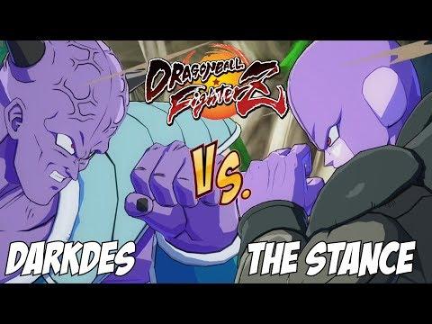 DarkDes(Android 18/Ginyu/Frieza) Fights The Stance(Beerus/Hit/Goku Black)[DBFZ]