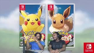 Pokemon: Let's Go, Pikachu! & Eevee! - Team Rocket & Mega Evolutions Trailer Reaction | DREAD DADS