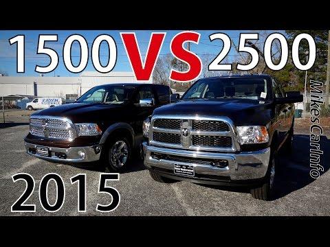 2015 RAM 1500 VS 2500