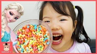 구슬 아이스크림 만들기 시크릿 쥬쥬 장난감 놀이 ♡ 꾸러기 유니 어린이 먹방 Kids play toys mukbang | 말이야와아이들 MariAndKids