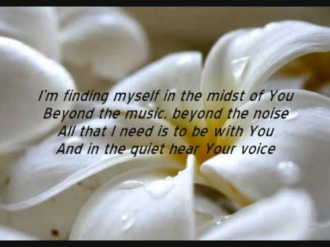 """Word of God Speak"" by MercyMe (lyrics) (excellent quality)"