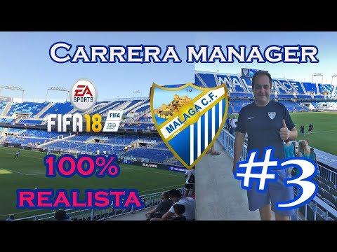 YA TENGO AL MESSI DE ESTE MÁLAGA CF  | FIFA 18 CARRERA MANAGER REALISTA MALAGA CF #3
