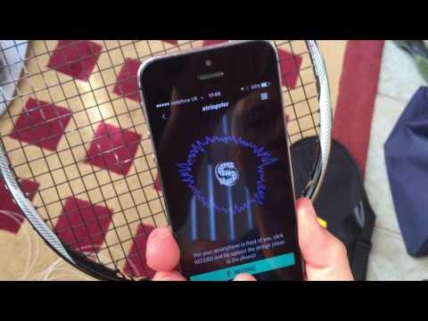 Measuring Badminton Racket String Tension