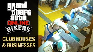 GTA Online - All Clubhouses and Business [Bikers DLC]