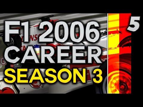 F1 2006 Career Mode S3 Part 5: European Grand Prix