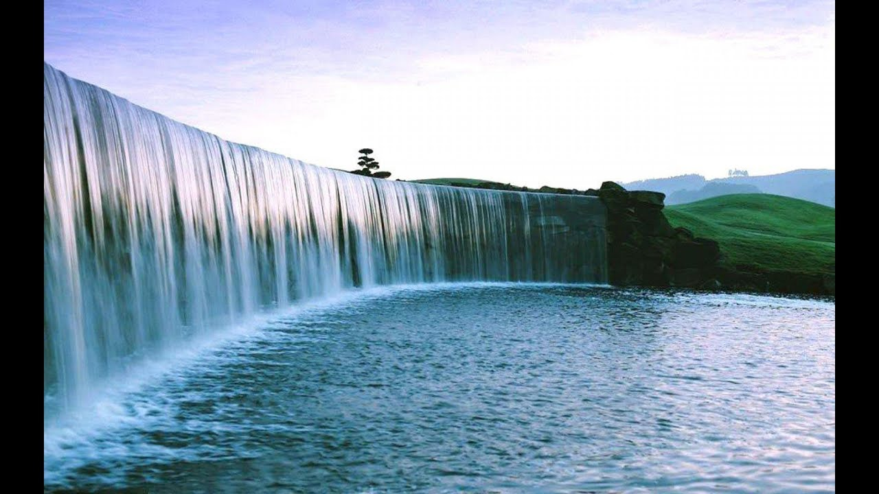 Waterfall In Mumbai Ghatkopar Station /मुंबईतील घाटकोपर स्टेशनवरील धबधबा - YouTube
