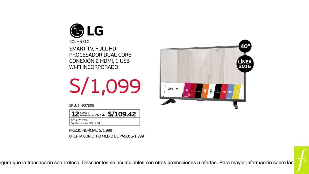 #CyberMami: OU Smart TV LG by Falabella Perú