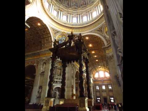 Holy God We Praise Thy Name - St Peter's Basilica Rome 9 January 2015