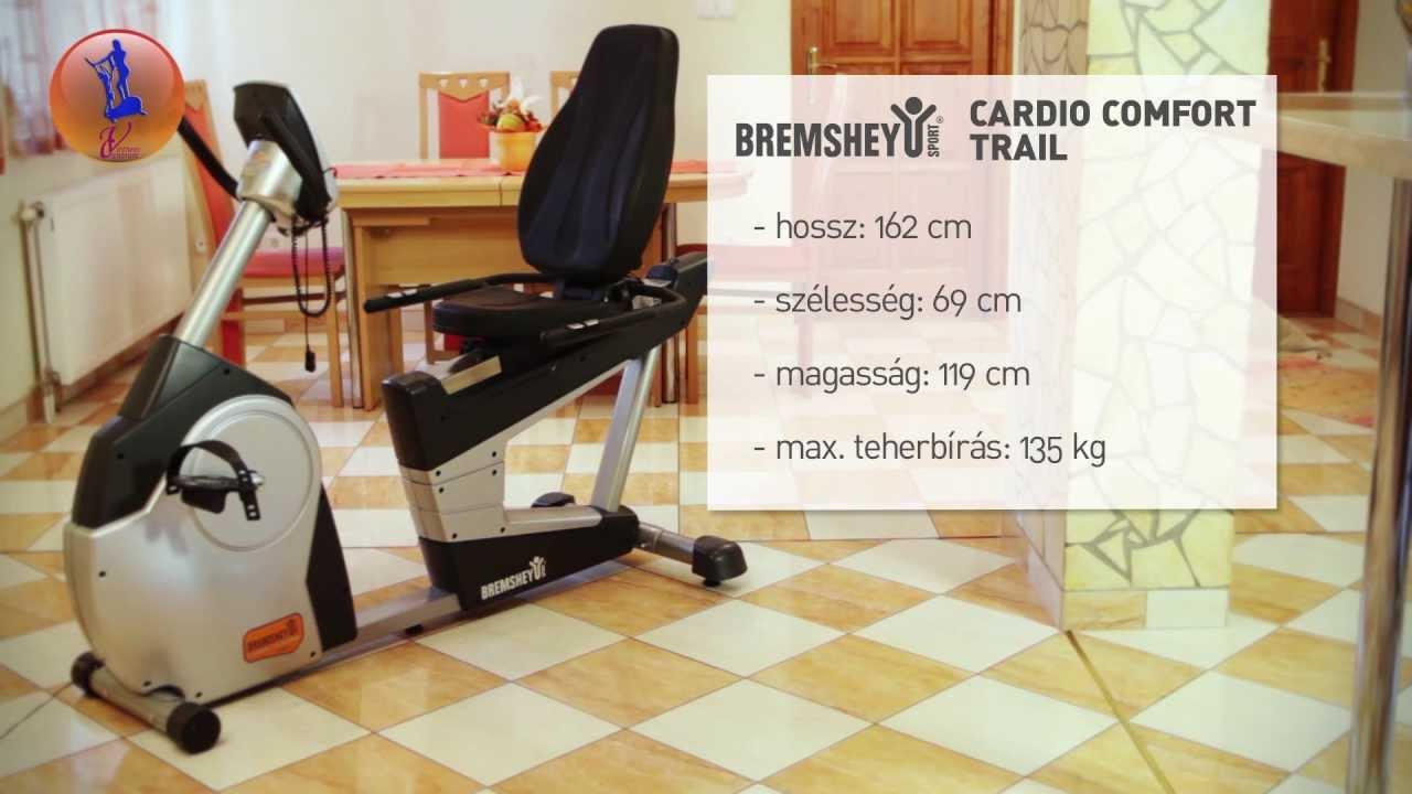 Goede Bremshey Cardio Comfort Trail háttámlás szobakerékpár - YouTube IA-71