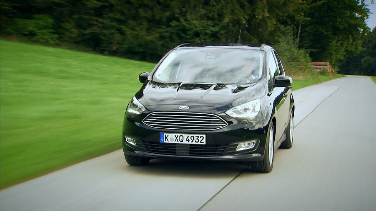 ford c max im test autotest 2015 adac youtube. Black Bedroom Furniture Sets. Home Design Ideas