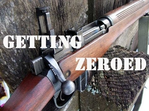 How to Zero the Lee Enfield Rifle