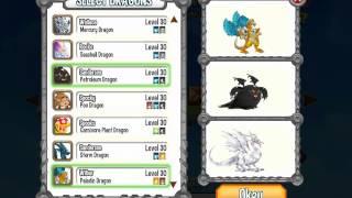 Dragon city combats Robot, Paladin Dragon
