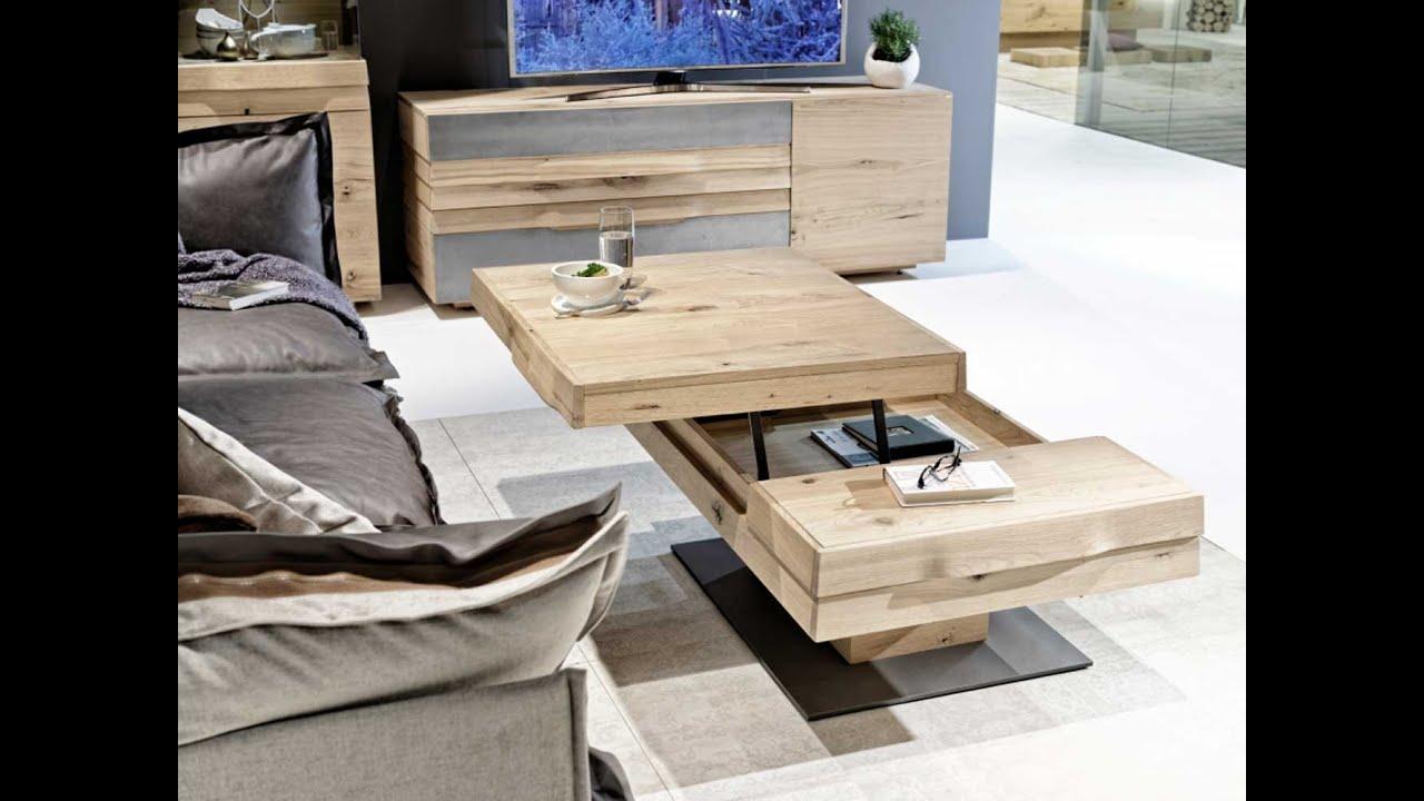 Fabriquer Une Table Escamotable table basse convertible, extensible, relevable et