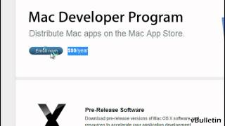 Signup for Apple Developer Account