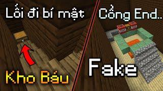 Toàn Bộ Các Căn Phòng Bí Mật Ở Biệt Thự Trong Minecraft - Kho Báu Ẩn Trong Tường!
