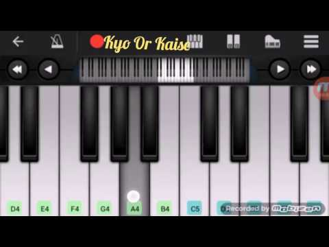 Dil Ne Ye Kaha H Dil Se Mohabbat Ho Gai H Tumse | Full Piano | Notes | By Dev