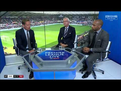 Swansea City vs Manchester United POST MATCH ANALYSIS by Thierry Henry and Alan Pardew