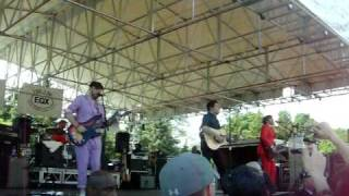 OK Go-- Back From Kathmandu LIVE @ Tulip Fest