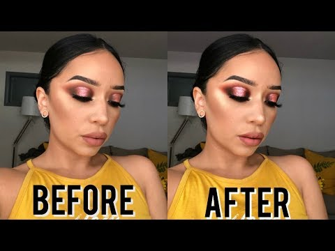 HOW I EDIT MY MAKEUP PICTURES FOR INSTAGRAM | SPILLING ALL THE TEA..