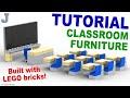 Tutorial - Lego Classroom Furniture [CC]