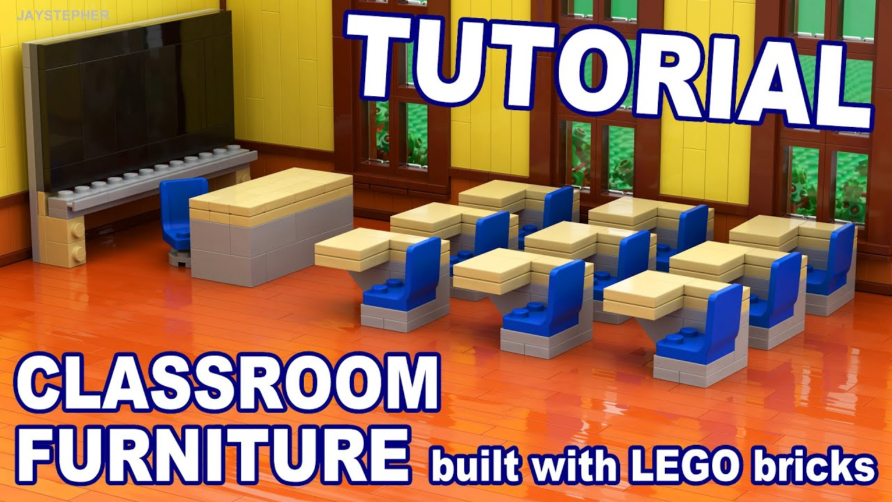 Tutorial Lego Classroom Furniture Cc Youtube