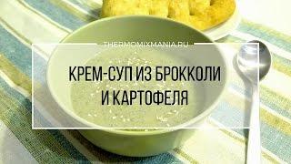 Термомикс рецепт: Суп пюре из брокколи и картофеля.