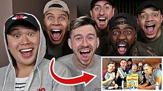 REACTING TO ONE MILLION SUBSCRIBERS AND THE FIRST EVER TEAM ALBOE VIDEOS!!
