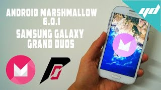 Install Android Marshmallow on Samsung Galaxy Grand Duos i9082/i9082L  | Resurrection Remix |