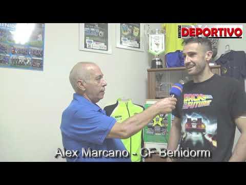 Video de la presentación de Alex Marcano y Gustavo Álvarez con el CF Benidorm