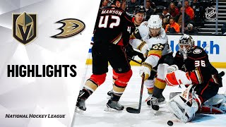 Vegas Golden Knights vs Anaheim Ducks | Feb.23, 2020 | Game Highlights | NHL 2019/20 | Обзор матча