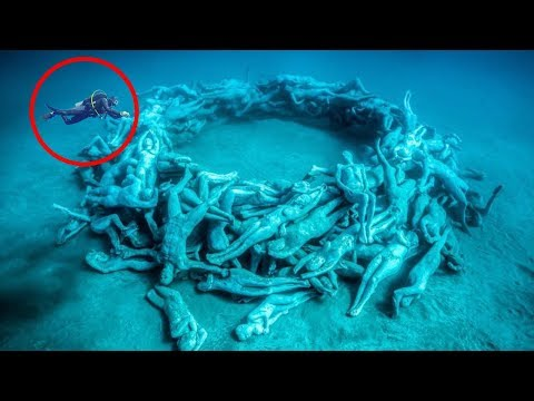 Most MYSTERIOUS Underwater Discoveries!