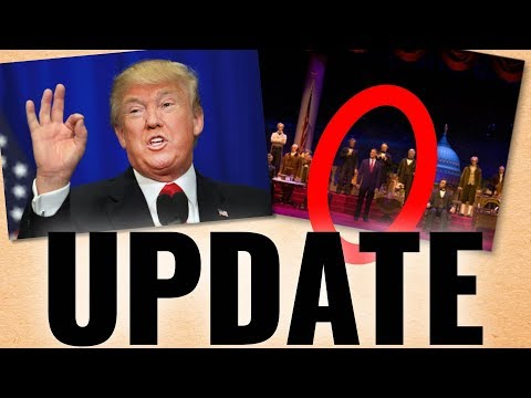 Donald Trump Hall of Presidents UPDATE