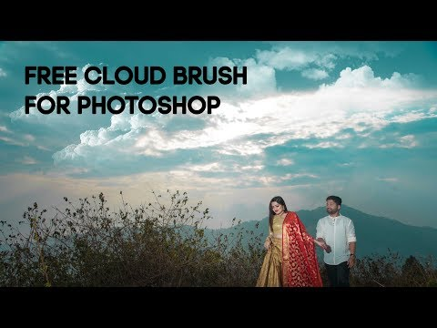 Free Cloud Brush For Photoshop |Create Dramatic Cloud | Photoshop Tutorial thumbnail