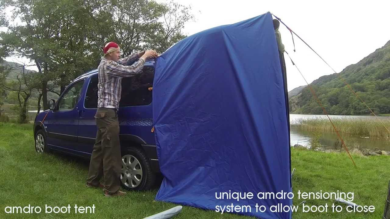 Amdro Boot Tent Youtube