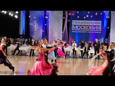 Танго Танцевальная Московия - 2019 Алина Широкова и Иван Крысанов