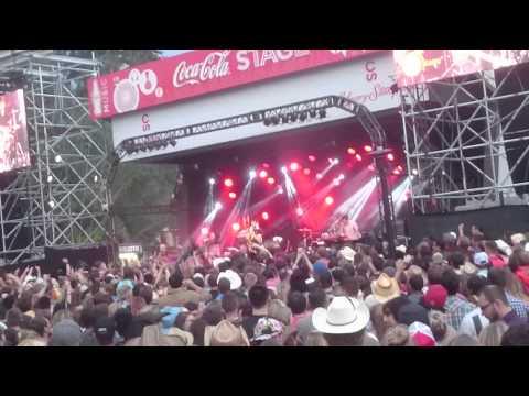Concert in stampede