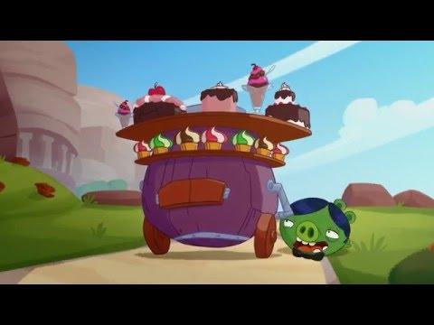 Злые птички - Энгри Бердс - Битва дворецких (S3E17) || Angry Birds Toons 3 season