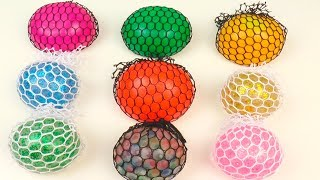 Learn Colors Squishy Balls Toys, Learn Numbers Squishy Surprise Toys