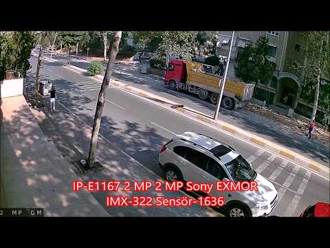 IP-E1167 2 MP 2 MP Sony EXMOR IMX-322 Sensör IP Kamera -1636