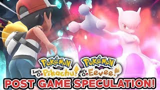 Pokemon Let's Go Pikachu & Let's Go Eevee - What Could The Post Game Be?