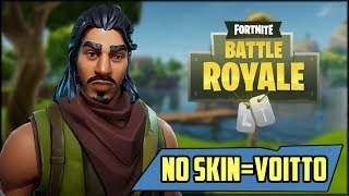 NO SKIN = PROFIT! | Fortnite Battle Royale (English)