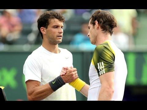Grigor Dimitrov vs. Andy Murray 6-7(3), 3-6 Miami Open (R32) 25.03.2013.