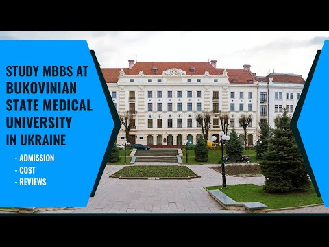Bukovinian State Medical University | Top Medical University In Ukraine 2020