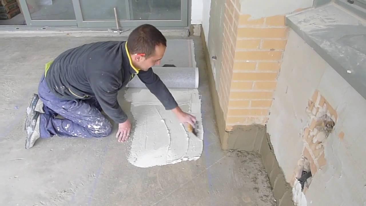 Instalaci n suelo radiante el ctrico paso 1 folio - Suelo radiante parquet ...