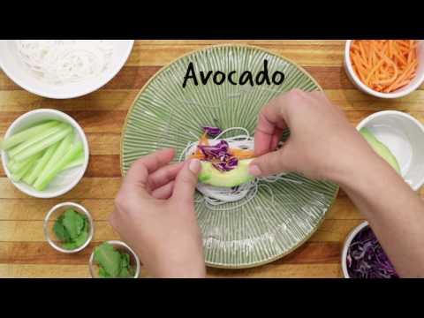 Healthy Recipe: Vietnamese Vegetable Spring Rolls