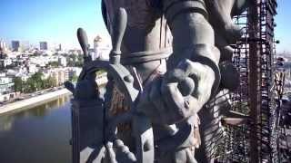 Памятник Петру Первому в Москве
