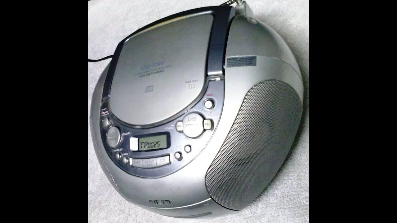 Aiwa And Player Radio Cd 3
