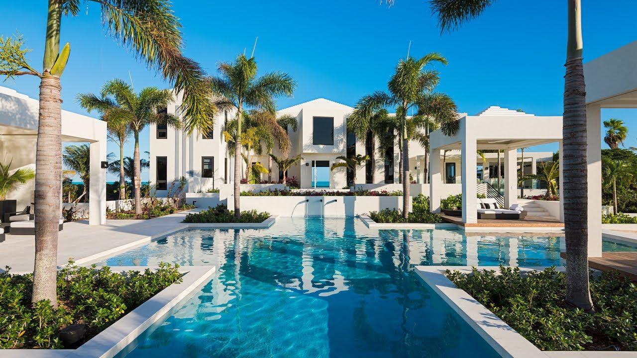 triton villa turks and caicos luxury villa rentals